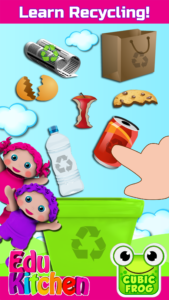 EduKitchen Screenshot Recycling Game for Kids